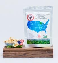 Sâm Mỹ chính hiệu Wisconsin - cắt lát - 100gr - túi