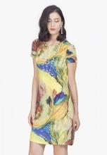 Đầm lụa Salito 2 lớp cao cấp DL26005