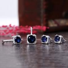 EROPI-Bộ trang sức bạc Blue Ocean