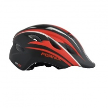 Nón bảo hiểm thể thao trẻ em Fornix A03NM28S đen đỏ