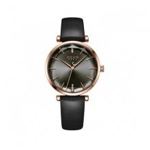 Đồng hồ nữ Julius Hàn Quốc JA-1094E dây da đen