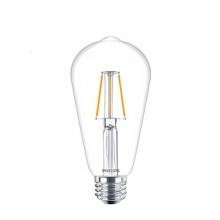 (Bộ 4) bóng đèn Philips LED Fila 7.5W 2700K đuôi E27 ST64 - Ánh sáng vàng