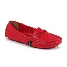 Giày mọi trơn (F01021 -  đỏ)