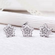 EROPI-Bộ trang sức bạc Edsel Flower