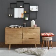 Tủ trưng bày nhỏ Trocadero gỗ tự nhiên - COZINO