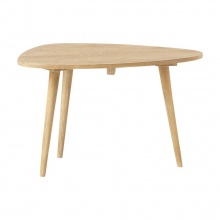 Bàn sofa nhỏ Trocadero gỗ tự nhiên- Cozino