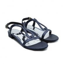 Giày sandal kẹp thời trang (5050sk0025 - xanh navy)