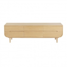 Tủ tivi Sunberry gỗ tự nhiên - COZINO