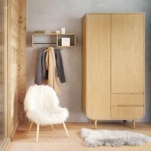 Tủ quần áo Sunberry gỗ tự nhiên - Cozino
