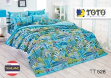 Bộ drap bọc nhập khẩu Thái Lan TOTO TT528 (160 x 200 cm)