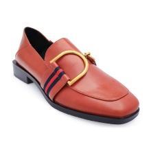 Giày tây cách điệu S17339 - nâu