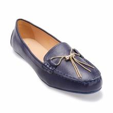 Giày mọi đính nơ S19252 - xanh dương