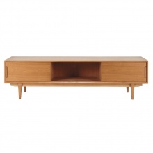 Tủ tivi lớn Portobello gỗ tự nhiên - Cozino