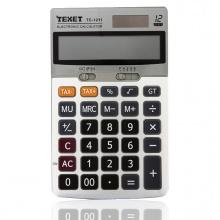 Máy tính số (có tax- và tax+) sử dụng pin và năng lượng mặt trời Texet TC-1211