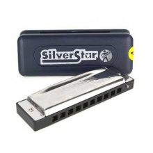 Kèn harmonica diatonic Silver Star M50401