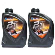 Combo 2 chai nhớt 2 thì cao cấp nhập khẩu Thái Lan - BCP SUPER 2T - TC/FD - 1 Lít