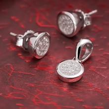 Bộ trang sức bạc Annie Love