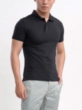 Áo polo shirt Aristino APS009S7 màu đen