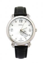 Đồng hồ nữ Julius Hàn Quốc dây da JA-700 JU968 (đen)