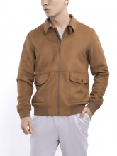 Áo jacket woven Aristino AJK009W7 màu nâu