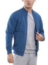 Áo jacket knit Aristino AJK033W7 xanh cổ vịt 17 MF