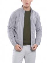 Áo jacket knit Aristino AJK034W7 xám