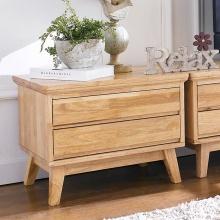 Tủ ngăn kéo Ixora 2 hộc gỗ cao su - Cozino