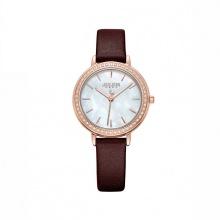 Đồng hồ nữ Julius Hàn Quốc viền đính hạt JA-1036