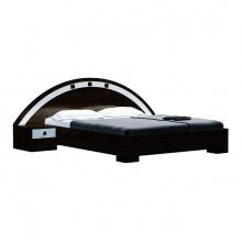 Bộ giường ngủ Kyoto 2m nâu - IBIE