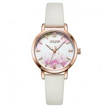 Đồng hồ nữ JA-1102 Julius Hàn Quốc dây da (5 màu)