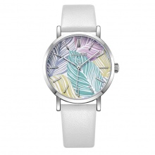 Đồng hồ nữ JA-1090 Julius Hàn Quốc dây da (5 màu)