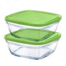 Hộp thực phẩm thủy tinh chịu lực Duralex Freshbox 310ml ( bộ 2)
