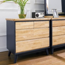Tủ ngăn kéo Lantana 4 hộc gỗ cao su - Cozino