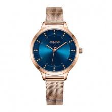 Đồng hồ nữ JA-1058 Julius Hàn Quốc dây thép (5 màu)