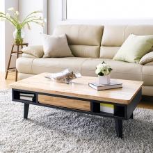 Bàn sofa Lantana gỗ tự nhiên- Cozino