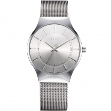 Đồng hồ nam JA-577MD JU1129 Julius Hàn Quốc dây thép (Trắng bạc)