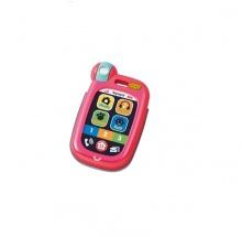 3441 Đồ chơi treo xe đẩy Smartphone hồng Toyroyal