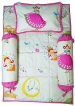Bộ 4 món ga gối Sleep Baby - Lovely Princess
