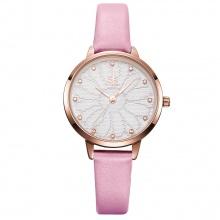 Đồng hồ nữ chính hãng Shengke Korea K8058 hồng