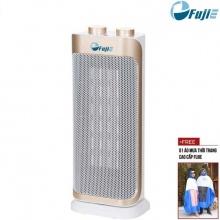 Quạt sưởi gốm Ceramic để sàn FujiE CH-2100 - Giảm giá 10% +Tặng áo mưa cao cấp đến 31/12/2018