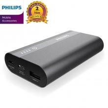 Pin sạc dự phòng Philips DLP2101QBK 10000mAh tích hợp cổng USB-C