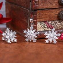 Bộ trang sức bạc Alidian Flower