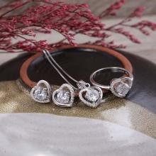 Bộ trang sức bạc Orianna Like