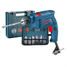Máy khoan động lực Bosch GSB 10 RE + 97 chi tiết