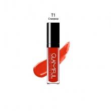 Son Tint Glamful Glam son môi nước màu đỏ tươi - T1