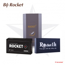 Combo 01 Rocket 1h + 01 Rocket Plus