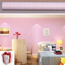 20m giấy decal cuộn sợi chỉ hồng BINBIN  DT39 tặng decal dán tường cửa sổ biển 3d