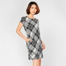 Đầm suông họa tiết HK 598
