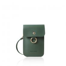 Túi điện thoại Verchini màu xanh rêu 010166