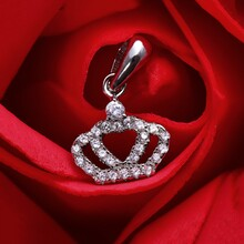 Mặt dây chuyền bạc Jasson Crown
